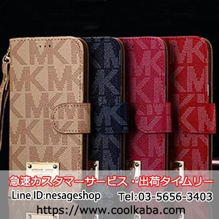 a2d03c1f8558 マイケルコース galaxy s7 edge SC02H 手帳型 iphoneX/8ケース 革製 ギャラクシーs7エッジ ケース手帳 MK アイホン8 プラスカバー ストラップ付き