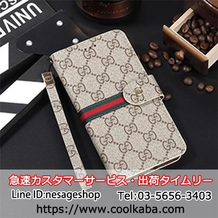 the best attitude 3d8d1 22925 グッチ iphoneXケース 手帳型 アイフォン8/7カバー メンズ向け ...