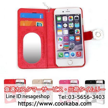 シャネル iphone7 ケース 鏡付き