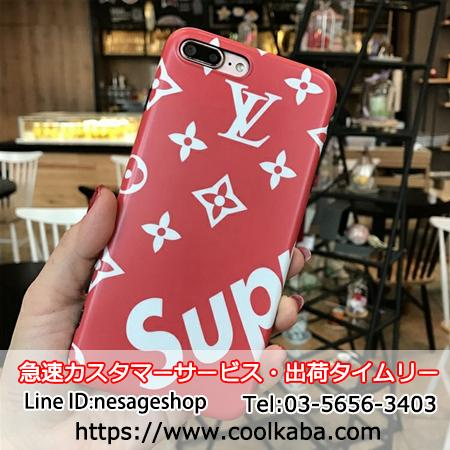 lv supreme iphone7ケース コラボ
