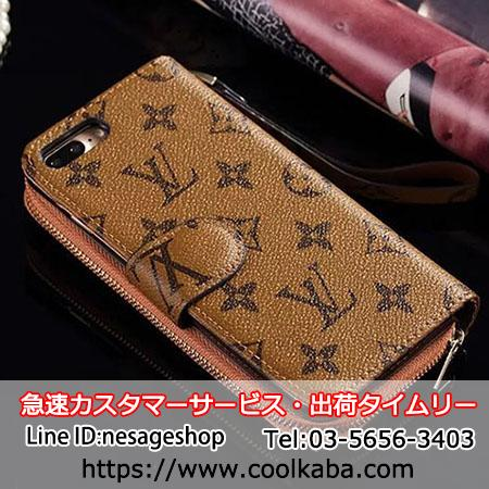 iphone8スマホケース 手帳型 ミラー付き