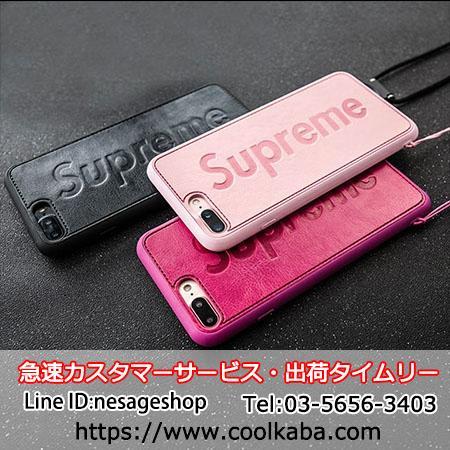 シュプリーム iphone8 plusスマホケース かpっぷる