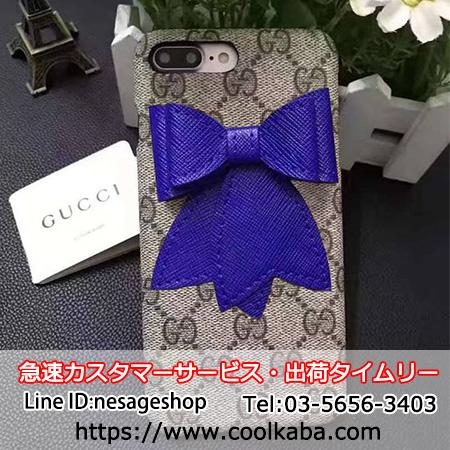 グッチ iphone7 plusケース 可愛い