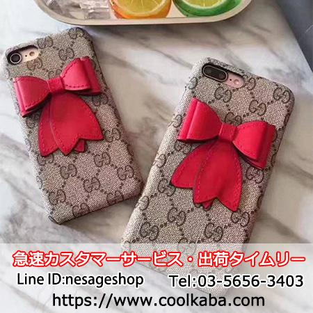 gucci iphone7splusケース キャンバス
