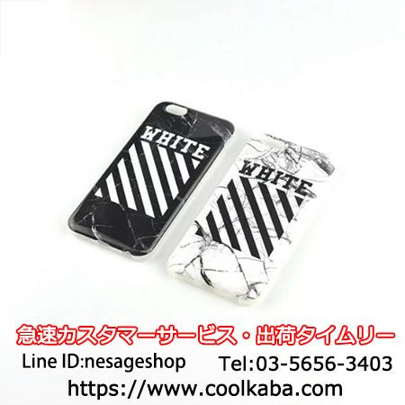 OFF WHITE iphone7sケース 芸能人愛用