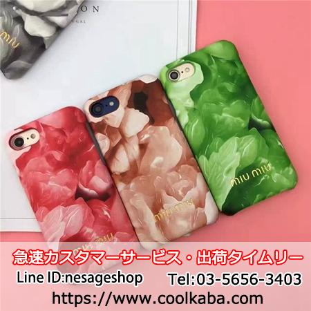 Miu-Miu iphone7/8plusケース 可愛い