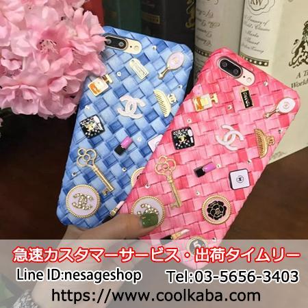 CHANEL iphone 7s plusケース 可愛い