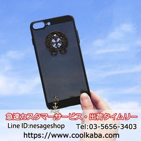 iphone7splusケース 網デザイン オシャレ
