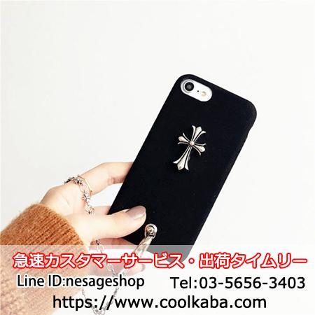 iphone8ケース チェーン カッコイイ
