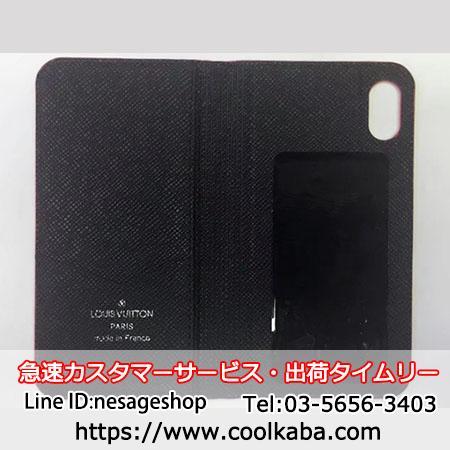 シュプリームiPhoneX手帳ケース ヴィトン