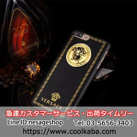 男女 Versace iphone 7S/8 plus 携帯ケース