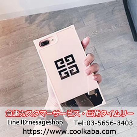 ジバンシィiphoneXケース 人気 鏡面