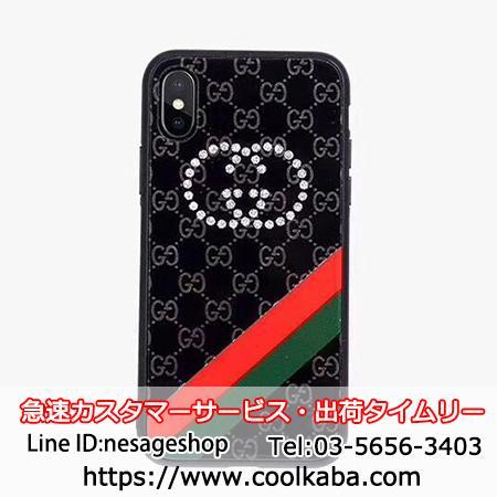 iPhonex デコケース グッチ