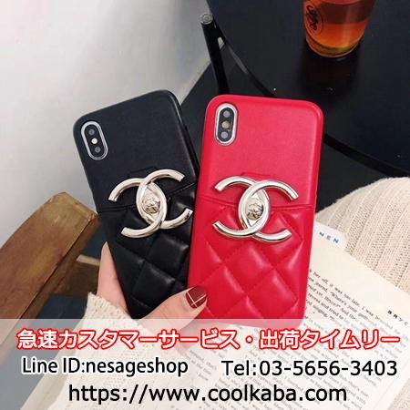 1a085528d912 CHANEL カード入れケース iPhoneXSMax カバー シャネル iphoneXS iphoneXRケース セレブ愛用 ブランド  iphone8PLUSハードケース BOX LOGO エレガント風 iphone7 6s ...