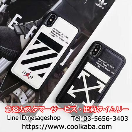 off-white&Jordan コラボ iphonexケース
