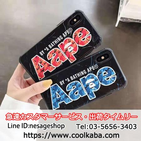 AAPE iphone11 proケース 個性的