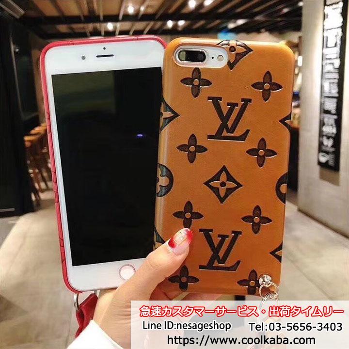 ヴィトン iphone8/8plusケース 衝撃