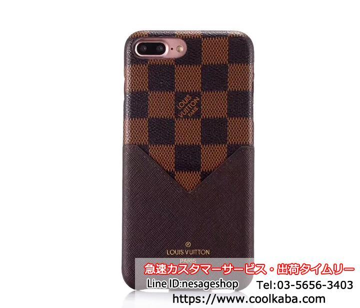iphone8plus LVケース カード収納