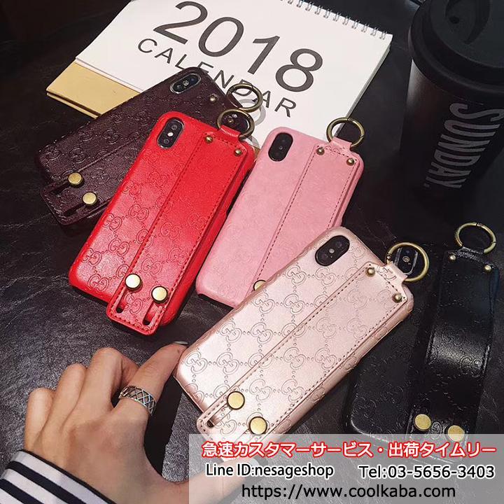 グッチ iPhoneX/X Plusケース ベルト