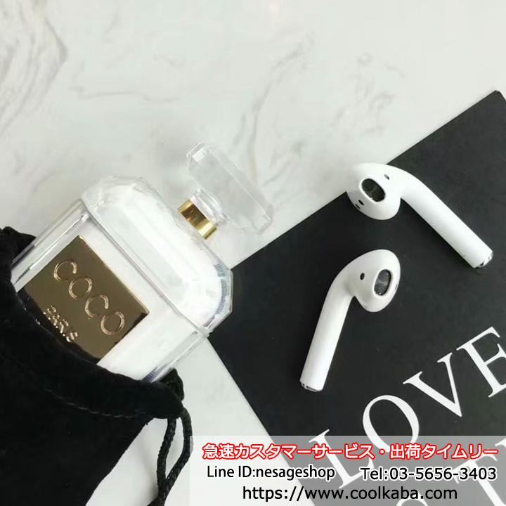 apple airpodsケース chanel