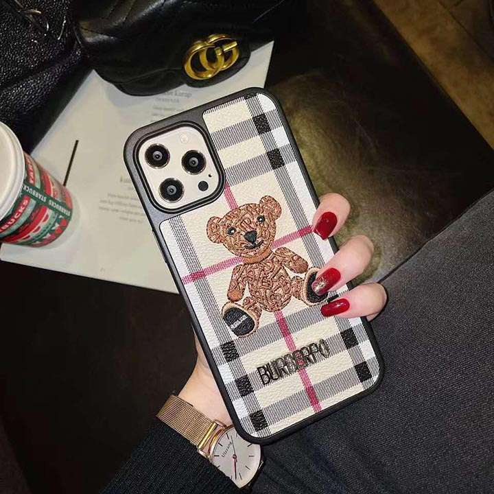 バーバリーBurberry風 iphone12ケース