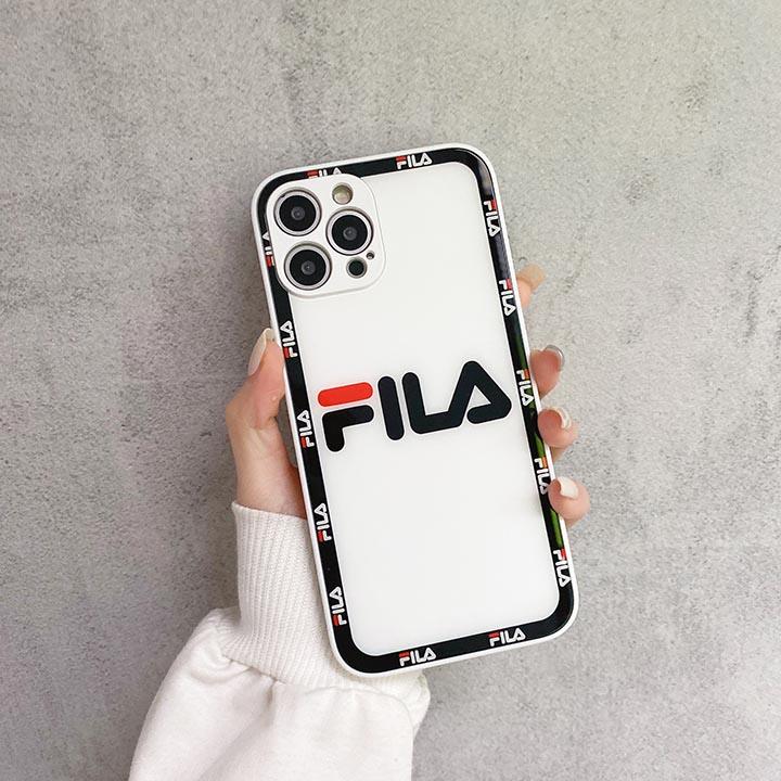アイフォン 8 プラス fila 背面ガラス ケース