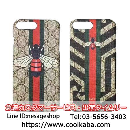 エンプロ ハチ柄iphone8plusケース グッチ