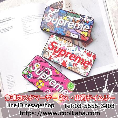 iphoneXケース ファッション シュプリーム