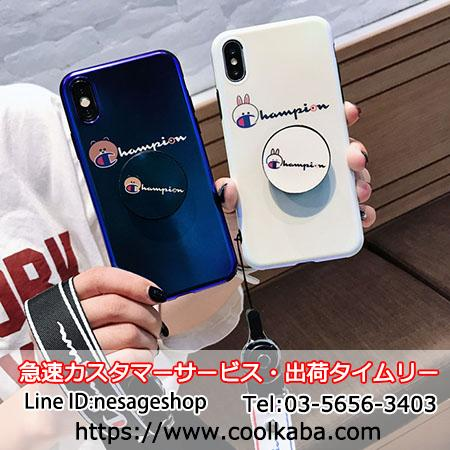 CHAMPION iPhone X Plusケース 気嚢支え