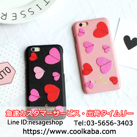 kate spade iphone6s ケース ピンク ハート