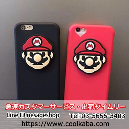 スーパーマリオ iphoneケース シリコン