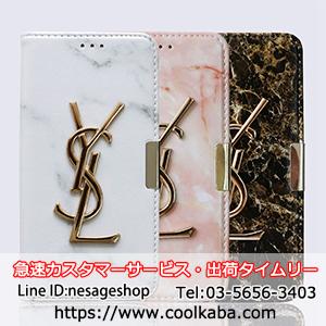 ysl アイフォンX/テン カバー 大理石